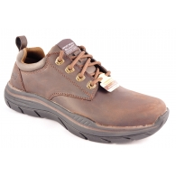 SKECHERS 66421 BROWN-0